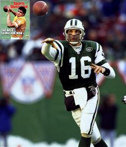 Vinny Testaverde during his time with the New York Jets