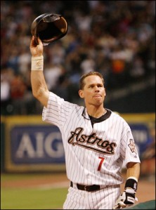 One of the most iconic players to ever wear a Houston Astro jersey, Craig Biggio
