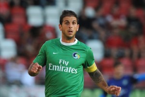 New York Cosmos captain Carlos Mendes