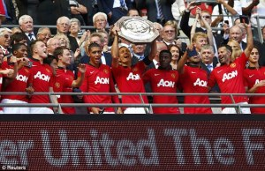 Manchester United started off the David Moyes era with their 21st FA Charity/Community Shield title.