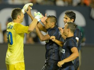 Inter struggled throughout the tournament and only defeated Juventus on PKs after the heroics of Juan Pablo Carrizo