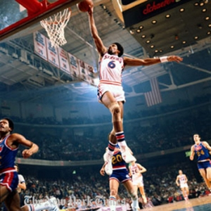"The 1 and only Julius ""Dr. J"" Evring"