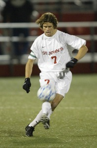 Chris Wingert during this time at St. John's University