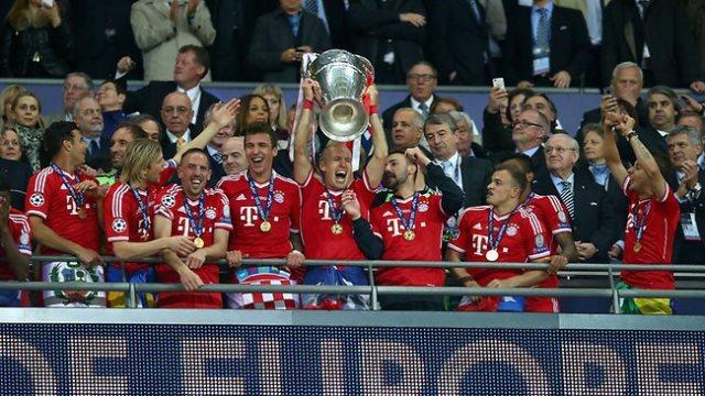 Bayern Munich UEFA CL champions