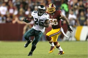 LeSean McCoy vs. redskins