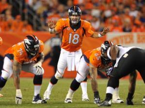 Peyton Manning vs. Ravens