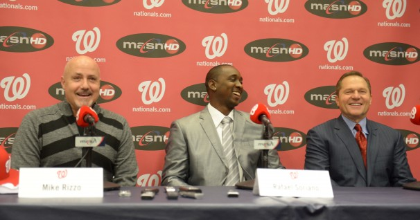Rafael Soriano Nationals introductory presser