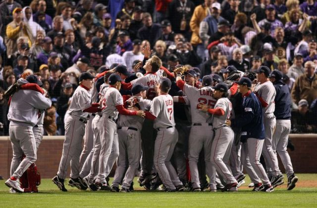 We'll finish things off with a reminder of who won the last World Series matchup between these two teams, as it ended in just four games...