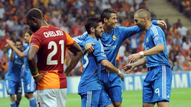Benzema and Ronaldo vs Galatasaray