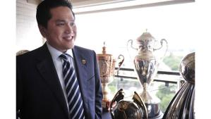 Moratti has chosen Indonesian businessman Erik Thohir to lead Inter into their new era