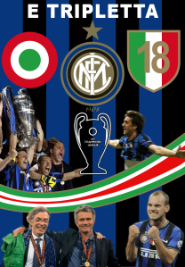 "Moratti led Inter to the ""tripletta"" in the 2009-10 season becoming the first Italian team to win the treble."