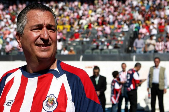 This is your friendly reminder that this man, Jorge Vergara, still owns Chivas USA and they are still one of the biggest jokes of a franchise in U.S. Pro Sports.