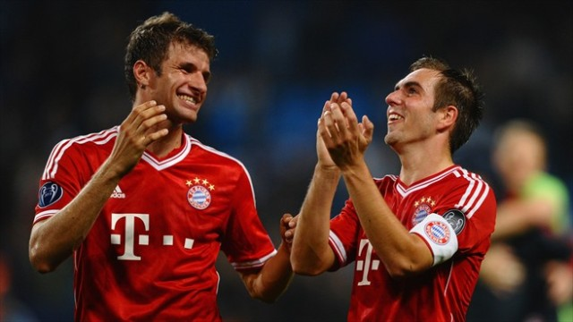 Muller and Lahm vs City