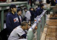 Tigers dugout ALCS Heartbreak