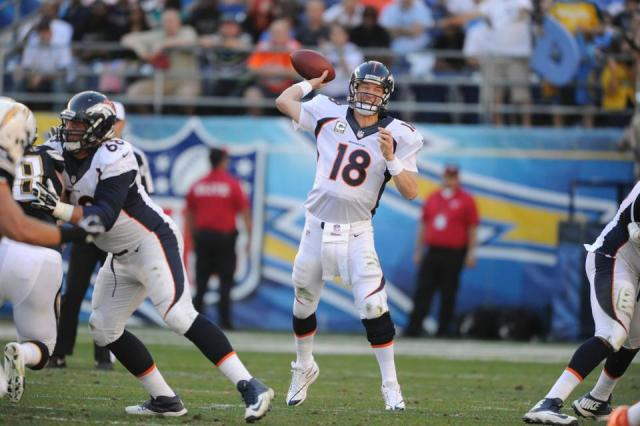He may have been playing through an injury, but Manning is still succeeding.
