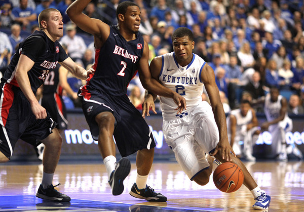 Belmont fought the Wildcats tough but in the end, Kentucky and their band of freshmen prevailed. Photo Credit: Aaron Borton, UK Athletics