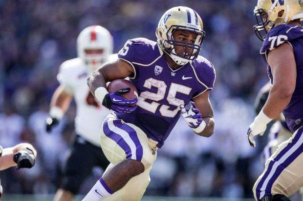Newsflash: Bishop Sankey is a great running back. Also, I'm biased.