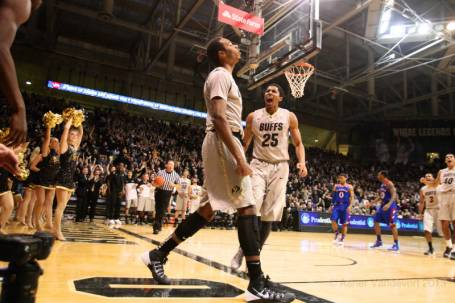The Colorado Buffaloes, however, are happy campers and the campus in Boulder will surely be abuzz come Monday after the mammoth win over No. 6 Kansas