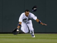 We had Endy Chavez playing ALL THE TIME. Woof.