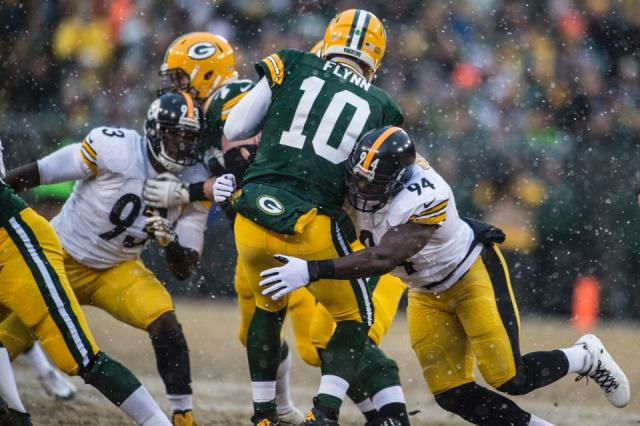 Flynn tackled Steelers beat Packers