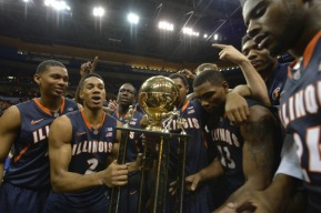 A big win today for the Illinois Fighting Illini as they defeated their arch rival, the Missouri Tigers. Photo Credit: Jasen Vinlove-USA TODAY Sports
