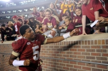 Jameis Winston found out this week that he would not be charged following the sexual assault investigation of which he had been the focus. Saturday, Winston threw for 330 yards and 3 TDs to lead FSU to the ACC Championship and a spot in the final BCS Championship game.