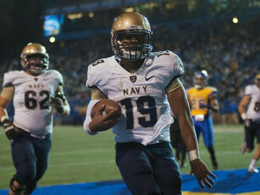 If you haven't watched Keenan Reynolds and the Navy triple option rushing attack, sit down and prepare to be entertained. And remember, he's also a Naval Cadet.