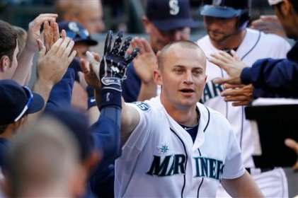 Hey, we had Kyle Seager. He was great. Let's feel good about Kyle Seager