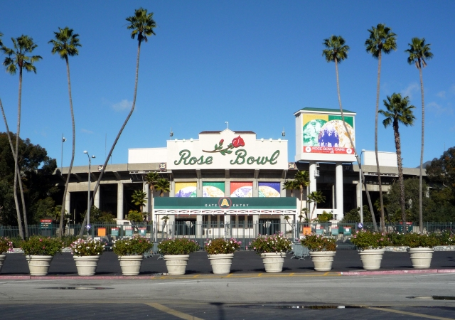 This glorious venue, nestled in the San Gabriel valley, plays host to the 100th Rose Bowl.