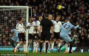 Manchester City will be hoping for more magic from Yaya Toure after his sensational free kick goal against Fulham
