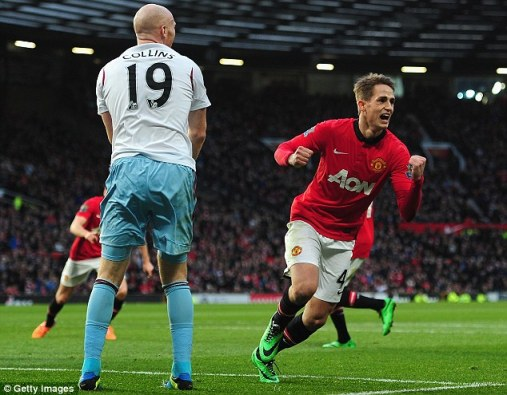 Adnan Januzaj celebration