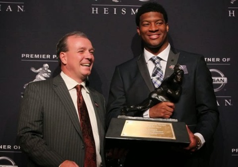 Jameis Winston with heisman