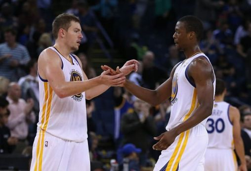 David Lee and Harrison Barnes are among the possibilities of players who could head from Golden State to Minnesota in a potential Kevin Love trade