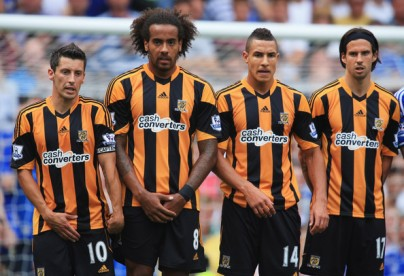 Here Huddlestone and Livermore are joined on the ends of the wall by Robert Koren on the left and George Boyd on the right.
