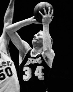 "Stan Love, not exactly the most famous man to wear ""34"" for the Los Angeles Lakers."