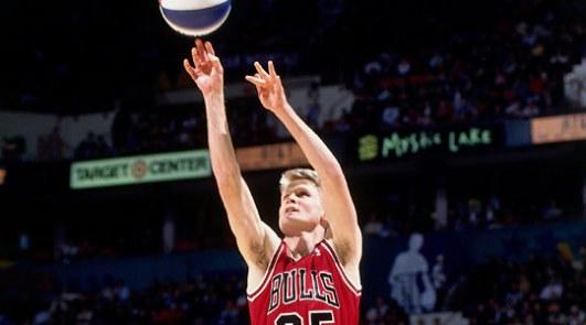 Steve Kerr Bulls shooting