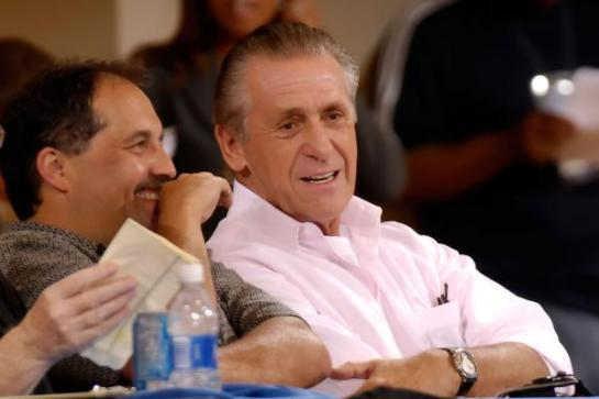 Stan and the man who employed him and then replaced him, Pat Riley