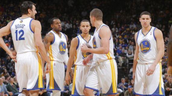 Warriors team shot