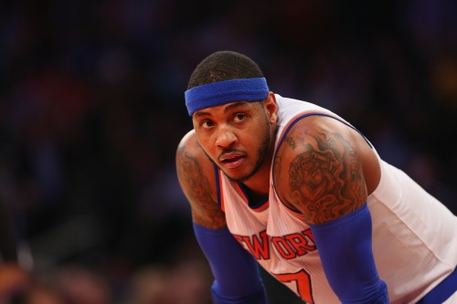 Only time will tell if we will again see Carmelo Anthony playing in a Knicks jersey.