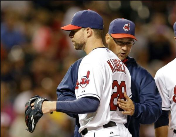 Manager Terry Francona has surely been pleased with everything he's seen from Corey Kluber so far this season. Photo Credit: Mark Duncan/AP
