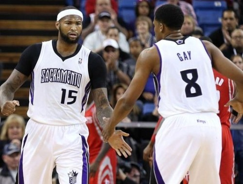 """Rudy Gay will return to Sacramento to work with """"Boogie"""" Cousins and we'll see how the Kings can perform next year"""