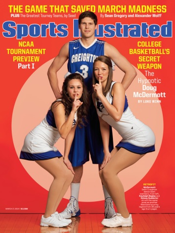 HE'S HEADED TO CHICAGO, PEOPLE. Doug McDermott is headed to become a member of the Chicago Bulls. McDermott is seen here doing what he does best: attracting women.