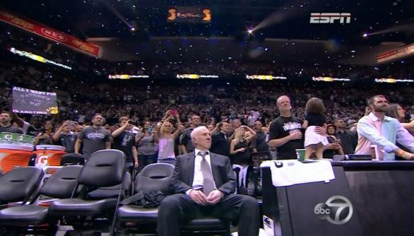 Take a deep breath, Pop. You can relax now.