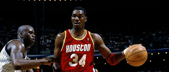 "Hakeem ""The Dream"" Olajuwon, one of the greatest big men of all-time."
