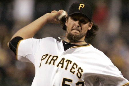 Joel Hanrahan, who was once a great reliever for the Pittsburgh Pirates