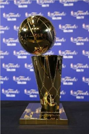 These two squads will battle it out for this, the Larry O'Brien Trophy. Photo Credit: Mike Ehrmann/Getty Images