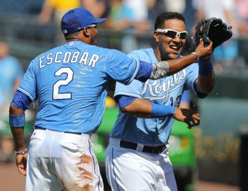 It's been all smiles at Kauffman Stadium in recent weeks. Photo Credit: Ed Zurga/Getty Images