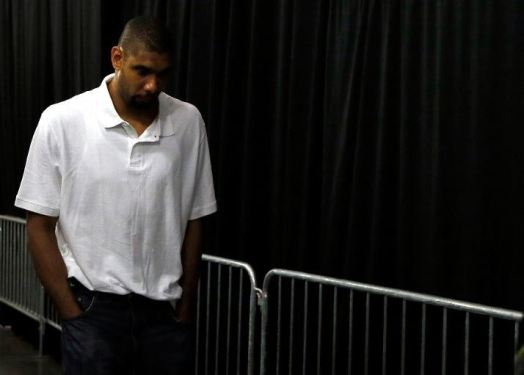 Tim Duncan and the Spurs ended the 2013 season on the sourest of notes, losing to the Heat in Game 7 of the NBA Finals. They drew on the agony of that defeat and came in with one thing on their mind: exacting revenge on the Miami Heat. Photo Credit: Kevin C. Cox/Getty Images
