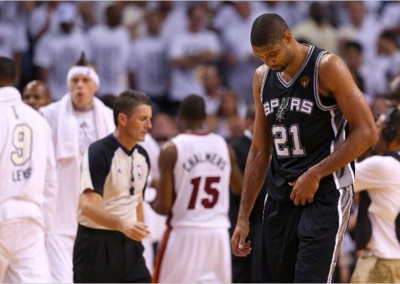 Tim Duncan and the San Antonio Spurs surely remember what last year's loss felt like and will do everything they can to make sure it doesn't happen again. Photo Credit: Mike Ehrmann/Getty Images
