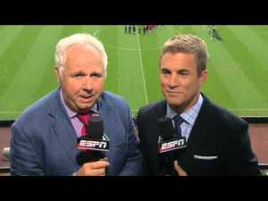 Ian Darke and Taylor Twellman will continue their fine work commentating USMNT games in Brazil